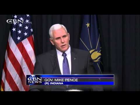 Indiana Governor Signs Religious Freedom Law