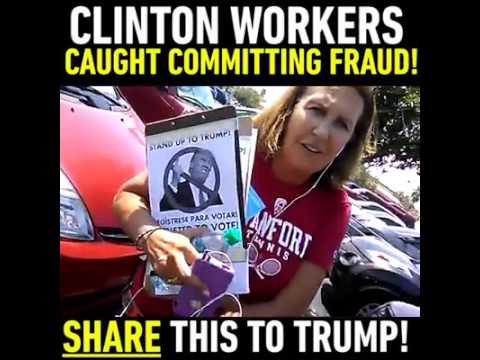 hqdefault clinton workers committing voter fraud youtube