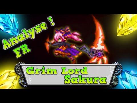 FFBE - Analyse Grim Lord Sakura [ Brave Exvius Review FR ]