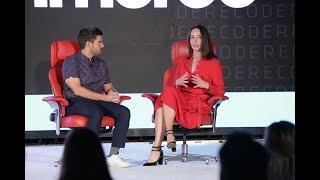 Square CFO Sarah Friar | Full Interview | 2018 Code Commerce