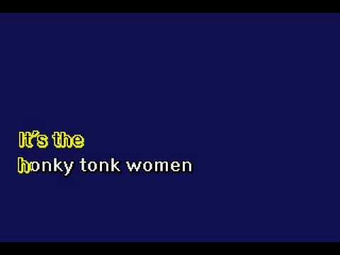 Rolling Stones - Honky Tonk Woman - Karaoke