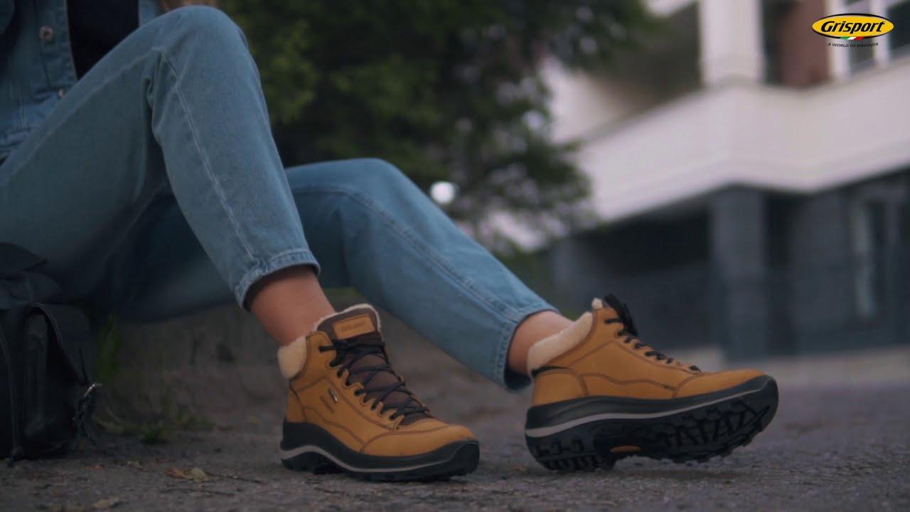 Grisport – итальянская обувь для города, спорта и треккинга - YouTube