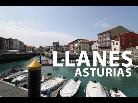Llanes Asturias. Vídeo de Llanes urbano y rural. Playas, rutas...