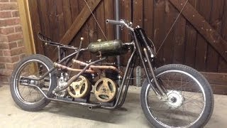 Homemade :: Villiers Twin Engine Bike :: (Pictures + Videos)