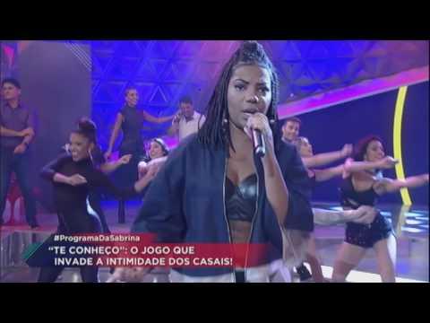 Cheguei: Ludmilla lança nova  no Programa da Sabrina