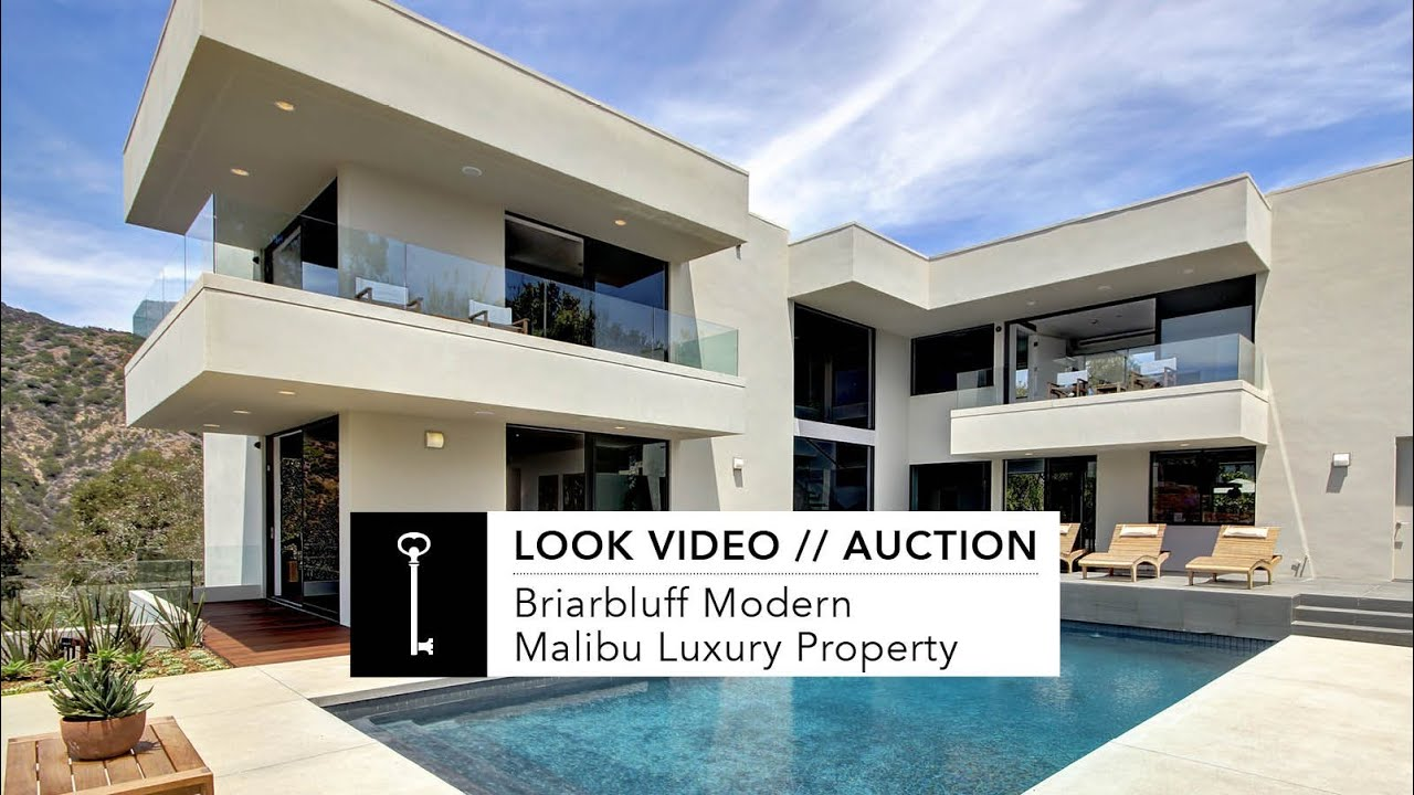 look video briarbluff modern malibu luxury home youtube - Contemporary Luxury Homes