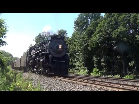 Chasing NKP 765 In Northeast Ohio Part 4: Climbing Carson Hill!