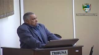 7ª Sessão Ordinária - Vereador Mineiro
