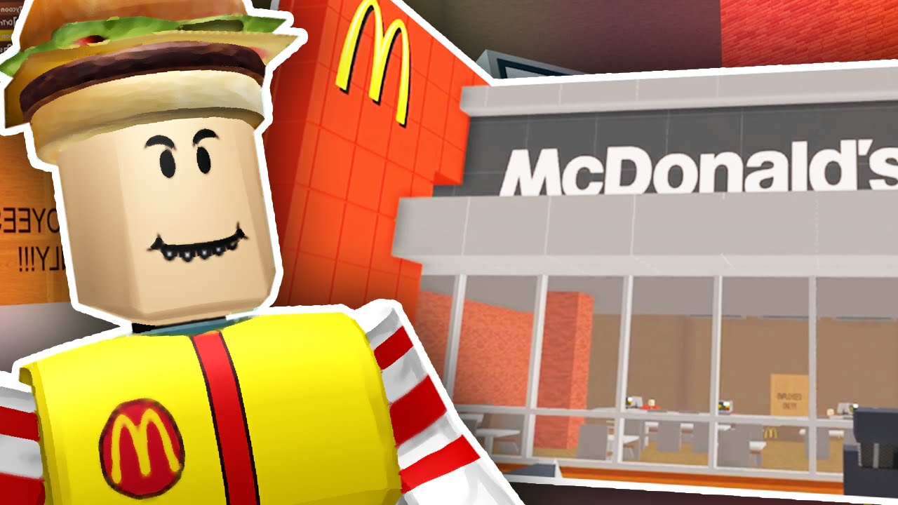 BUILDING MY OWN MCDONALDS!!