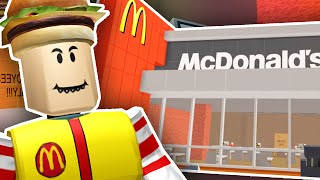 building my own mcdonalds   roblox