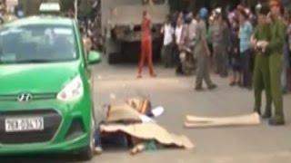 Clip: Tai nạn thương tâm, 2 mẹ con chết thảm