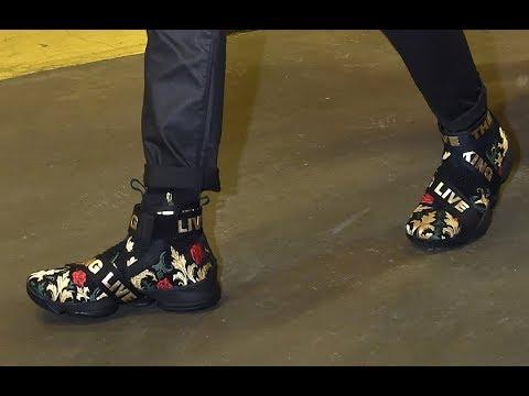 promo code d03e2 ea669 LeBron James React to Seeing Kith x Nike LeBron 15s