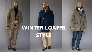 How To Wear Loafers In The Win…