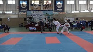 Первенство СФО по каратэ среди кадетов и юниоров