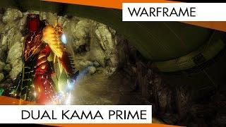 Warframe Dual Kama Prime