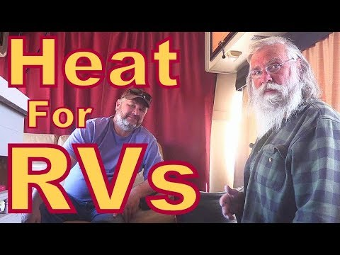 Heating an RV with an Olympian Wave 8