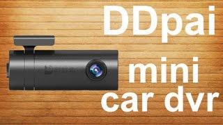 Видеорегистратор DDPai mini - обзор