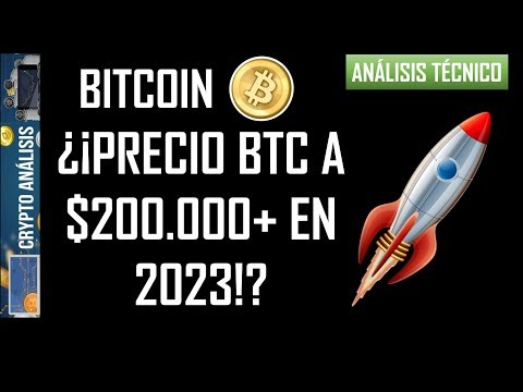 Análisis Bitcoin/Btc -¿¡PRECIO BTC A $200.000+ EN 2023!?🚀