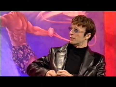 Robin gibb on TV show 2002