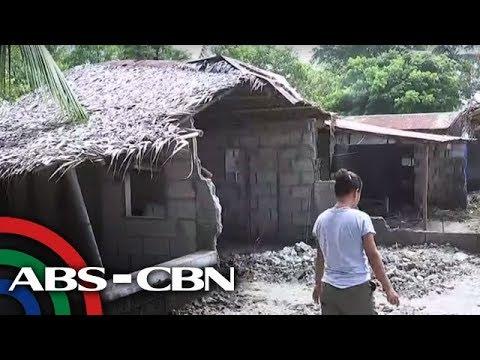 Tulong panawagan ng mga nasalanta ng malalaking alon sa Occidental Mindoro   TV Patrol