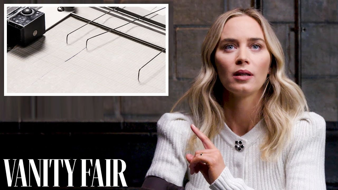 Emily Blunt Takes a Lie Detector Test