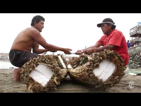 In Peru, Trading Boats for Boards   The New York Times