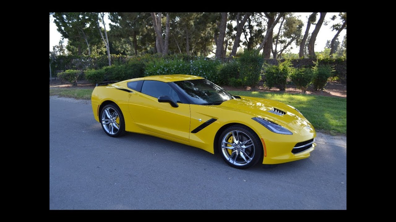 sold 2014 chevrolet corvette z 51 coupe velocity yellow for sale by corvette mike youtube. Black Bedroom Furniture Sets. Home Design Ideas