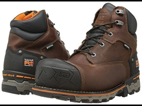 4dc0ca2da1d3e Review Amazon Timberland PRO Men's Boondock 6 Inch Waterproof Non-Insulated  Work Boot