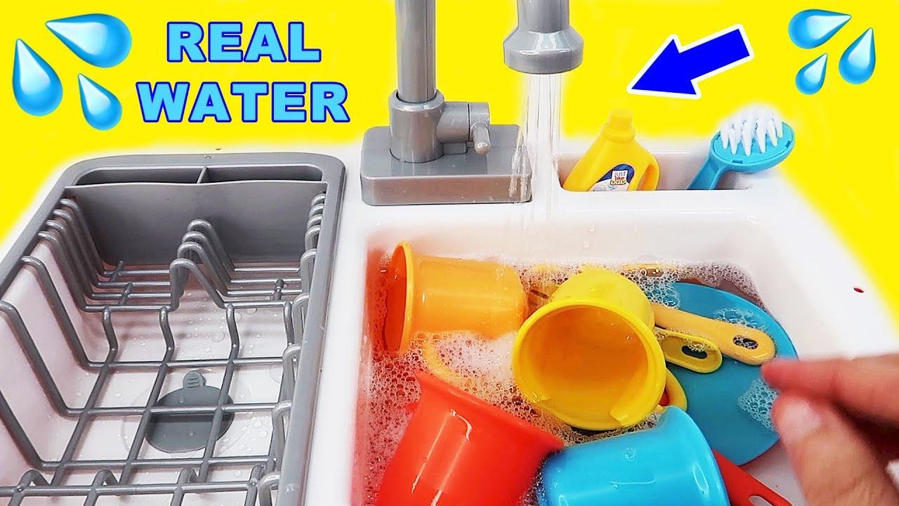 Kitchen Toys For Children: Kids Toy Kitchen Sink Faucet Playset
