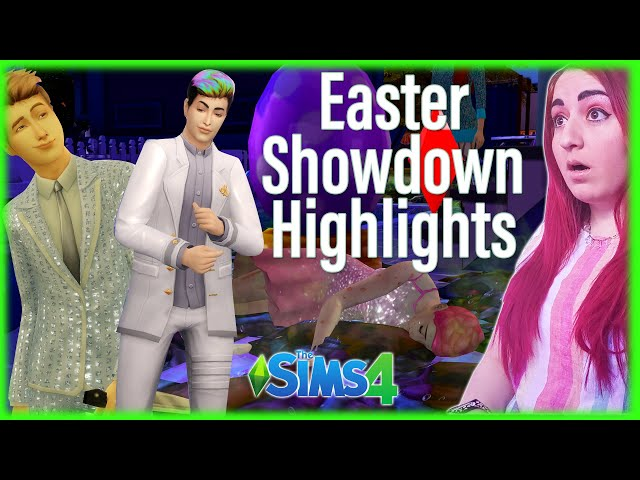 🥚🐣Easter Sims Showdown🍫🐇YOU Controlled the Sims w/Streamloots Cards