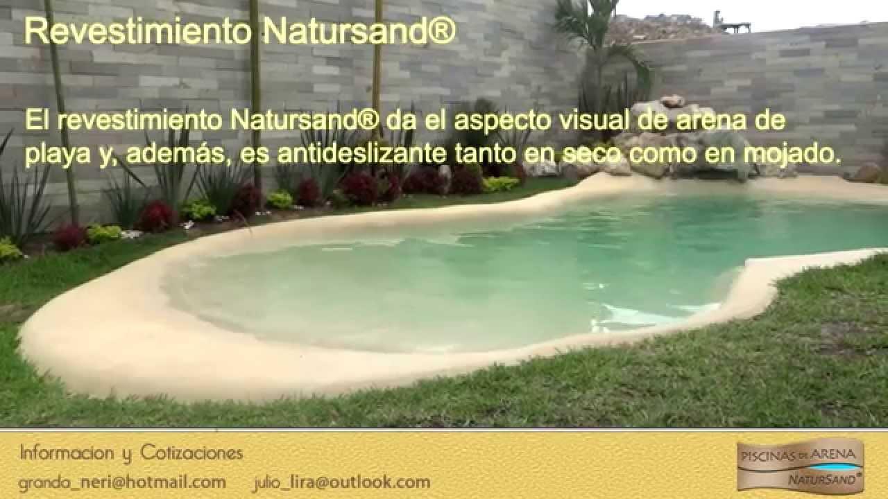 Piscinas de arena mexico youtube - Precio piscinas de arena ...