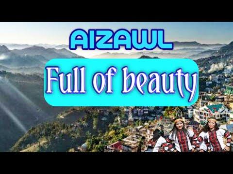 Views of Aizawl, Mizoram, North East India tourism by Ramu Roy