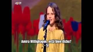 Niña de 9 años canta opera maravillosa