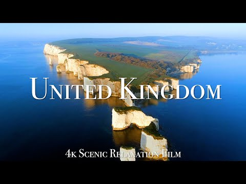 The United Kingdom 4K - Scenic Relaxation Film With Calming Music