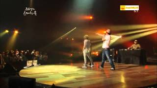 [Live] Drunken Tiger (Tiger JK & Bizzy) & T-Yoon Mirae - Get It In [120504]]