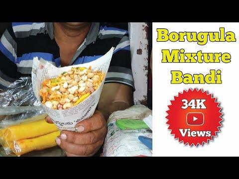 Famous Food In Nellore - Sri Veeranjeneyulu Borugulu Mixture Bandi | Nellore Rockss |