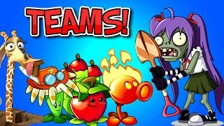 Plants vs Zombies 2 Excavator Zombies vs The Best Teams Part 1