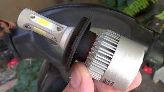 Что будет если установить LED лампу на скутер вместо обычной лампы накаливания