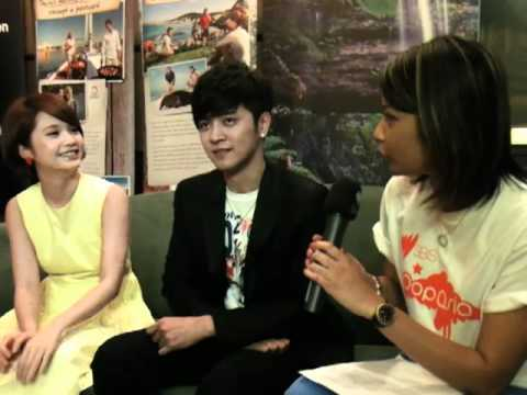 Show Luo & Rainie Yang hang out with SBS PopAsia in Sydney