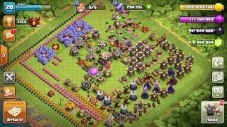 Clash of clans hack no Fhx server no any cheat. must watch