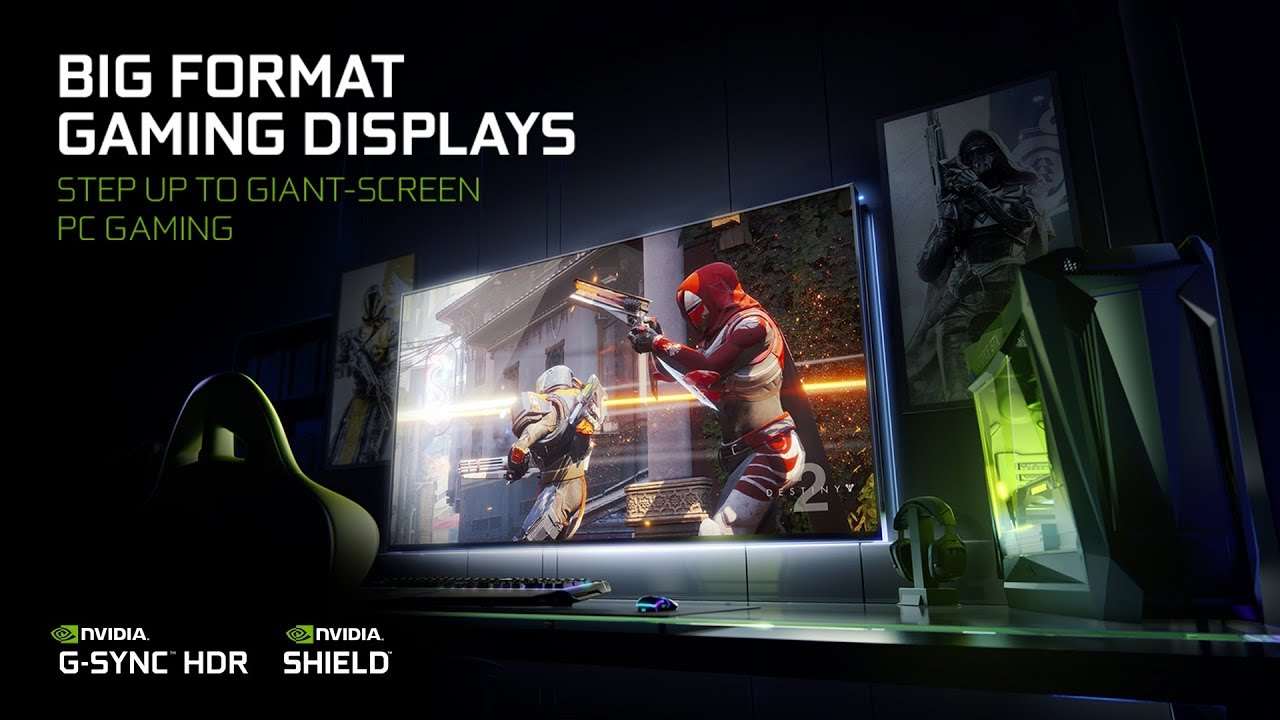 Nvidia teams up with Acer, Asus and HP to launch 65-inch