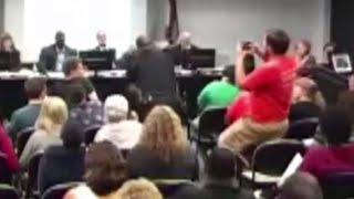 Watch Math Professor Get Body Slammed to the Ground by Campus Police