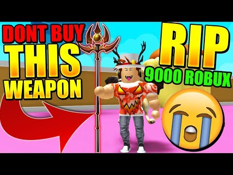 I Bought The Best Weapon In Weapon Simulator But Is Bad Roblox