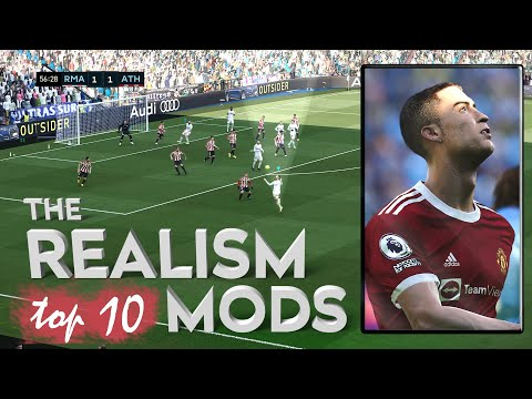 TOP 10 Most Beautiful Realism mods for PES 2021 on PC