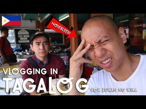 VLOGGING IN TAGALOG (For Buwan Ng Wika/Philippine National Language Month) | Vlog #204