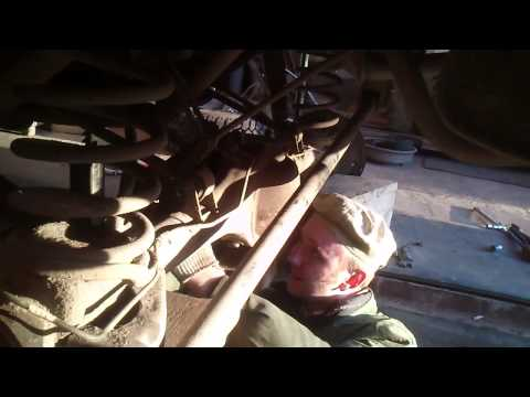 Как снять полуоси моста на Niva Chevrolet