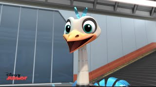 Miles From Tomorrow - Mighty Merc - Official Disney Junior UK HD