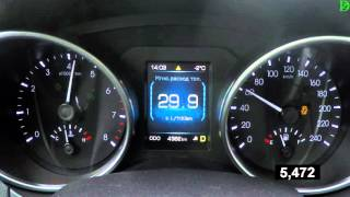 Haval H8 - Acceleration 0-100 km/h (Racelogic)