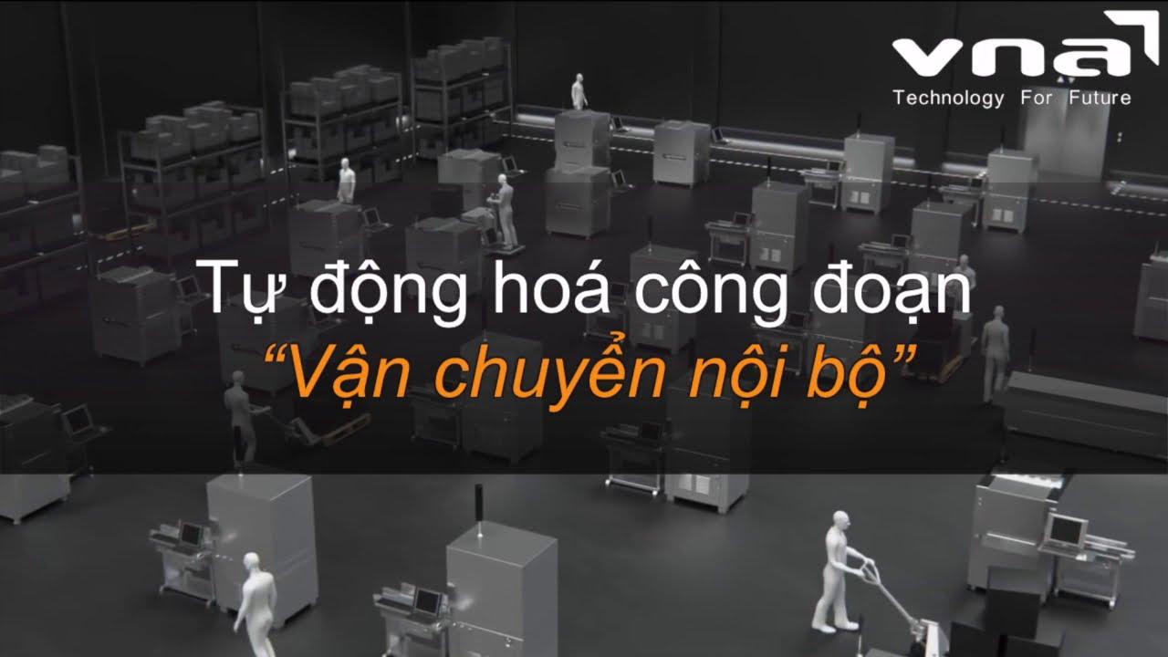 Robot AGV vận chuyển Pallet – Tự động hoá công đoạn vận chuyển trong nhà máy. Hotline: 0983 117 863.