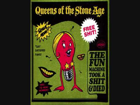 Queens of the Stone Age - The Fun Machine Took a Shit! And Died (With Lyrics)
